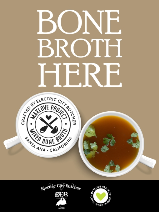 Bone Broth Max Love SIGN_table tent