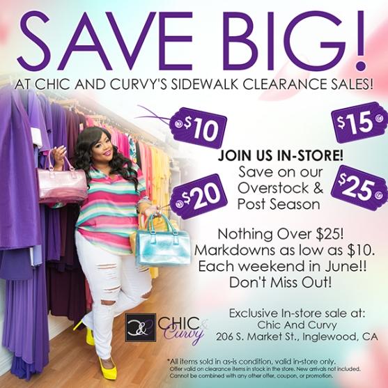 C&C Sidewalk Sale