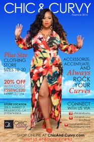 chic and curvy magazine ad