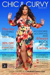 chic and curvy magazine ad