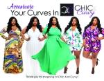 C&C Business flyer design for plus size clothing line