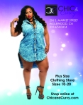 C&C Business flyer design for plus size clothing line